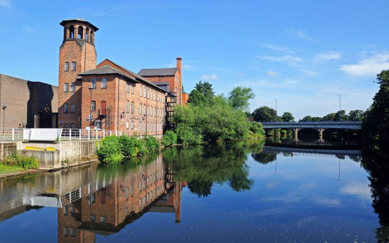 silk mill derby web